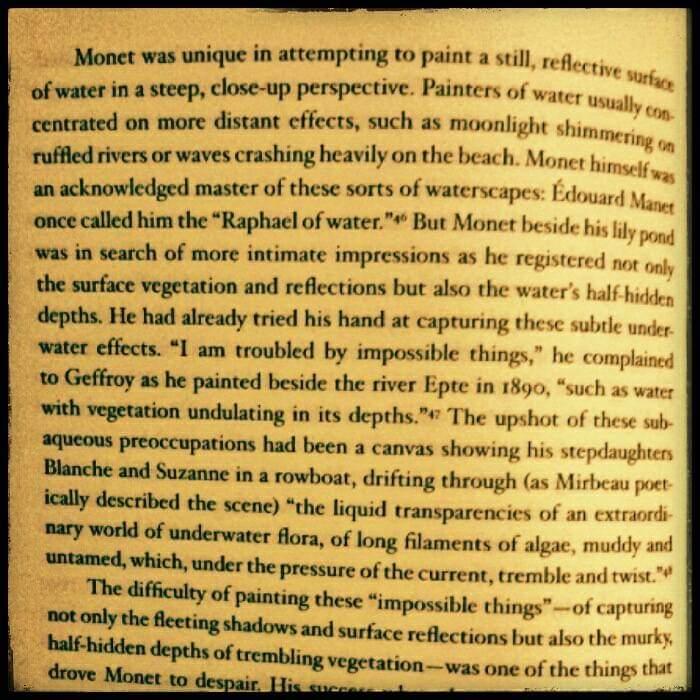 Monet extract